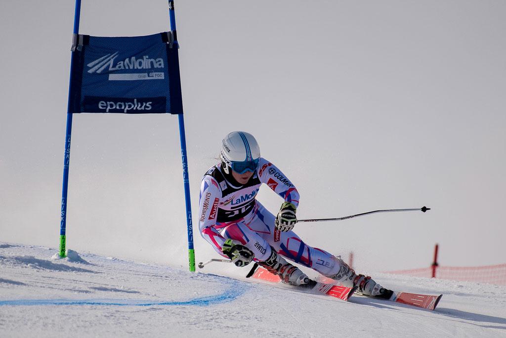 BOEUF Johanna  (FRA), European Cup, FIS, GS, La Molina (SPA), Women