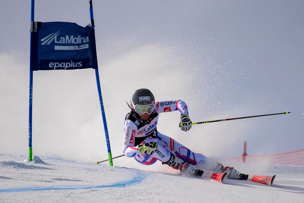 CHAPUIS Lea  (FRA), European Cup, FIS, GS, La Molina (SPA), Women