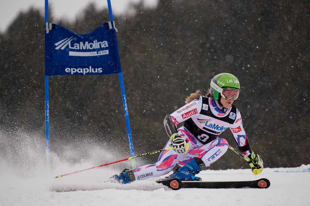 DIREZ Clara (FRA), European Cup, FIS, GS, La Molina (SPA), Women