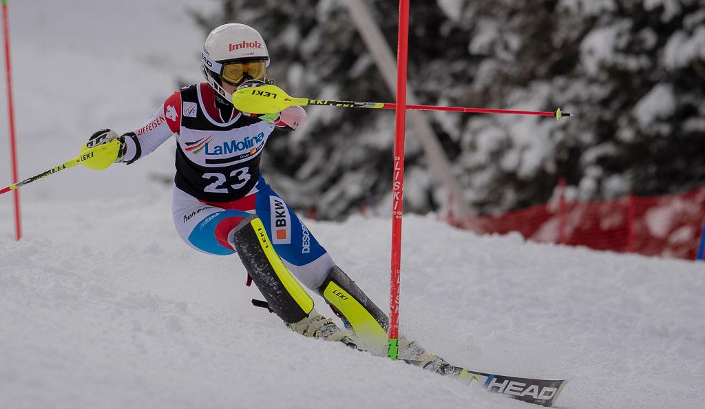 2015/16, European Cup, FIS, KASPER Vanessa  (SUI), La Molina (SPA), SL, Season, Women