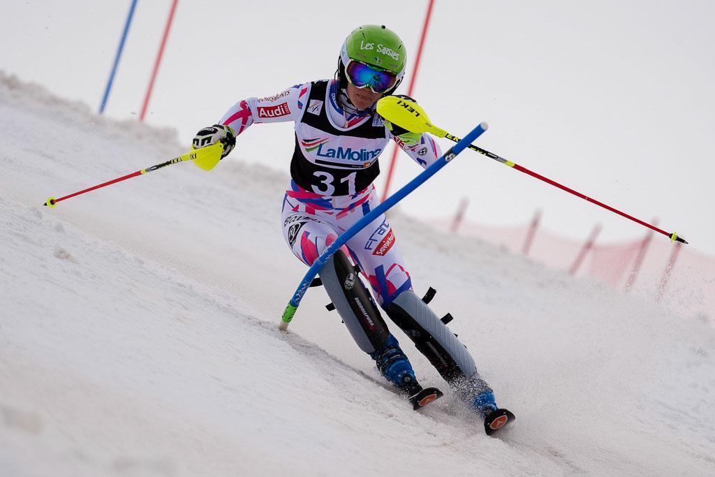 DIREZ Clara (FRA), European Cup, FIS, La Molina (SPA), SL, Women