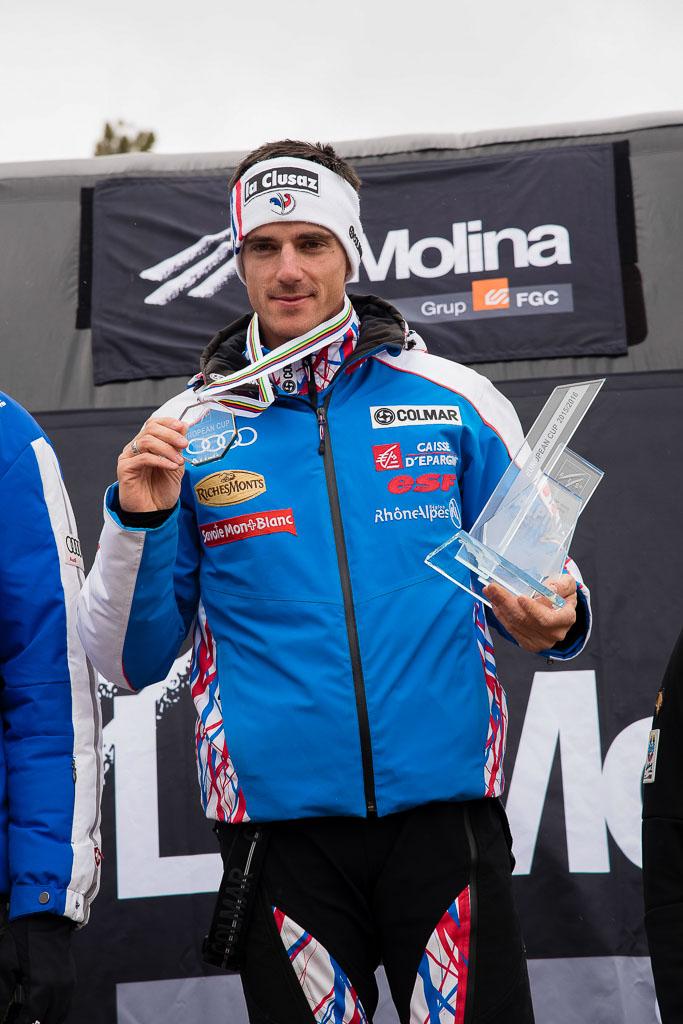 2015/16, BUFFET Robin (FRA), European Cup, FIS, La Molina (SPA), Men, SL, Season