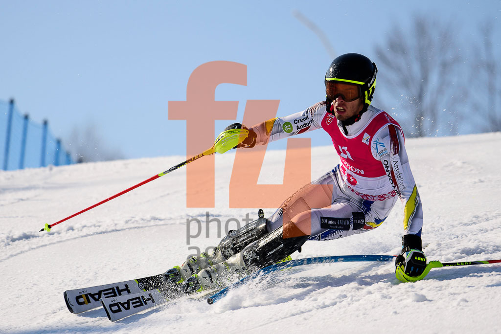 2016/17, ESTEVE Axel   (AND), European Cup, FIS, Men, SL, Season, Zakopane (POL)