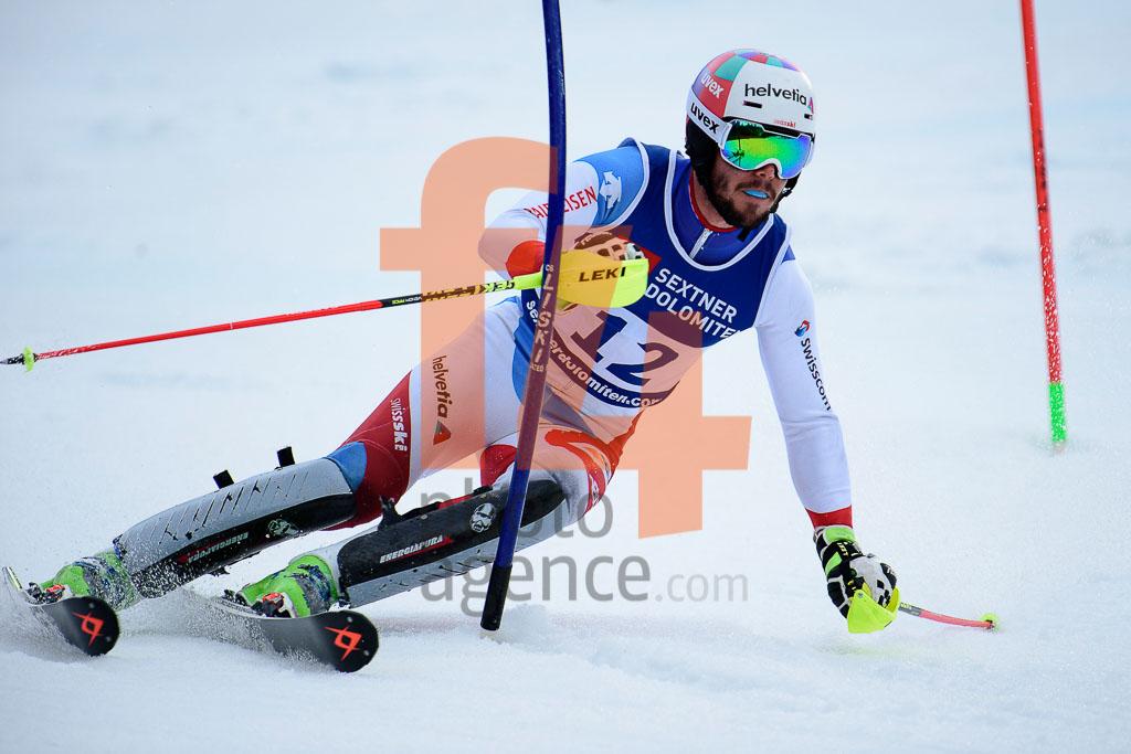 2016/17, BONVIN Anthony  (SUI), European Cup, FIS, Men, SL, San Candido_Innichen (ITA), Season