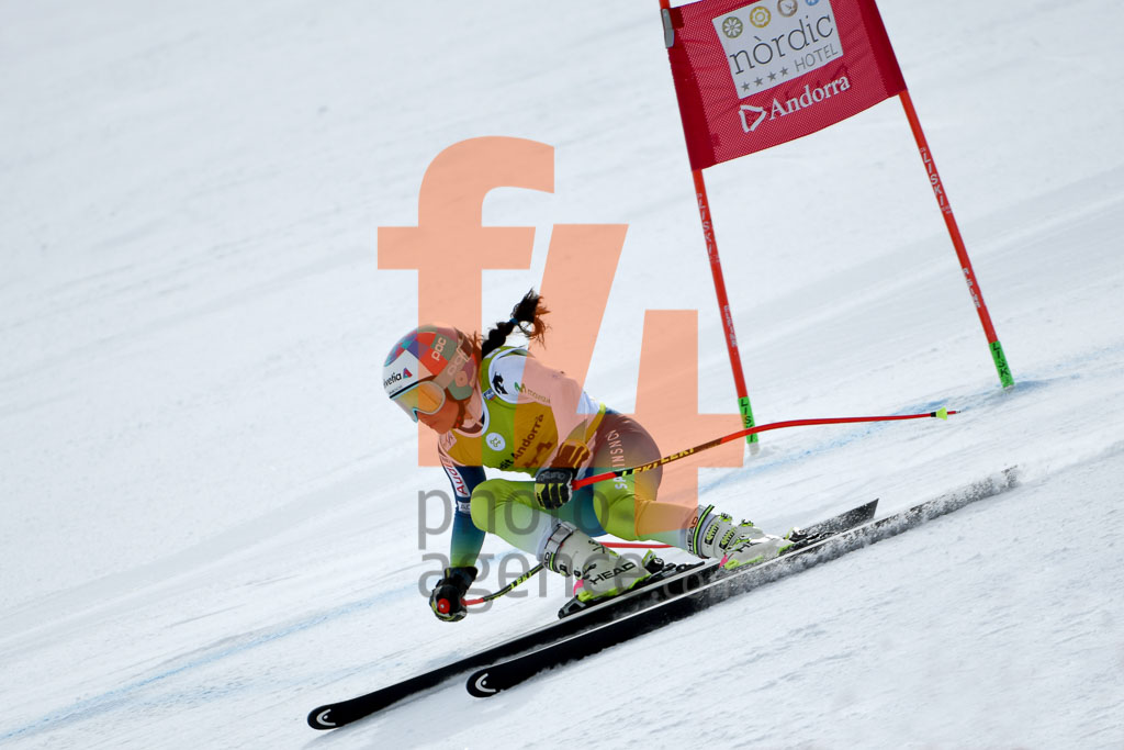 2017/18, BARGALLO Julia  (ESP), DH TRA, El Tarter (AND), European Cup, FIS, Season, Soldeu (AND), Women