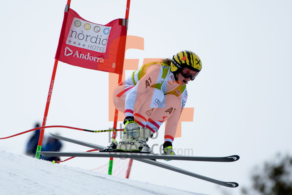 2017/18, DH TRA, El Tarter (AND), European Cup, FIS, ORTLIEB Nina (AUT), Season, Soldeu (AND), Women