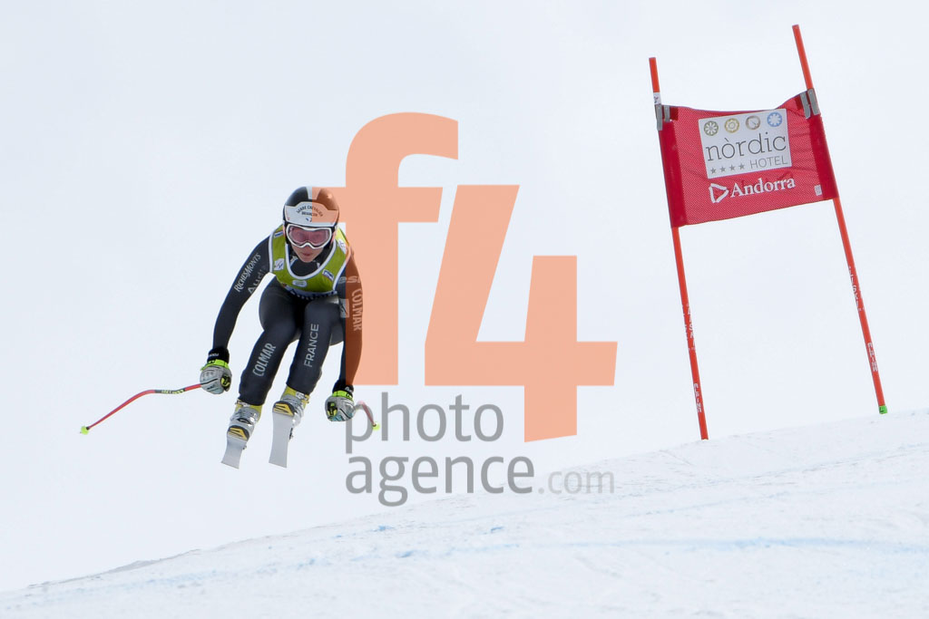 2017/18, DH TRA, El Tarter (AND), European Cup, FIS, PELLISSIER Marion (FRA), Season, Soldeu (AND), Women