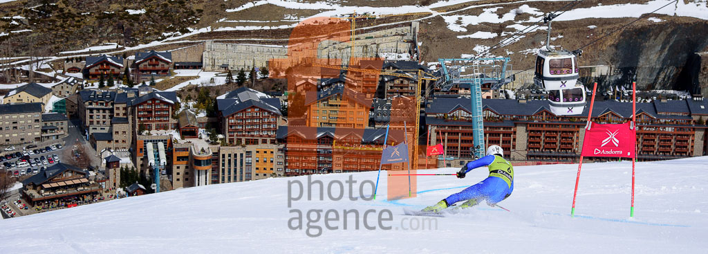 2017/18, European Cup, FIS, GS, HOFER Alex  (ITA), Men, Season, Soldeu (AND)