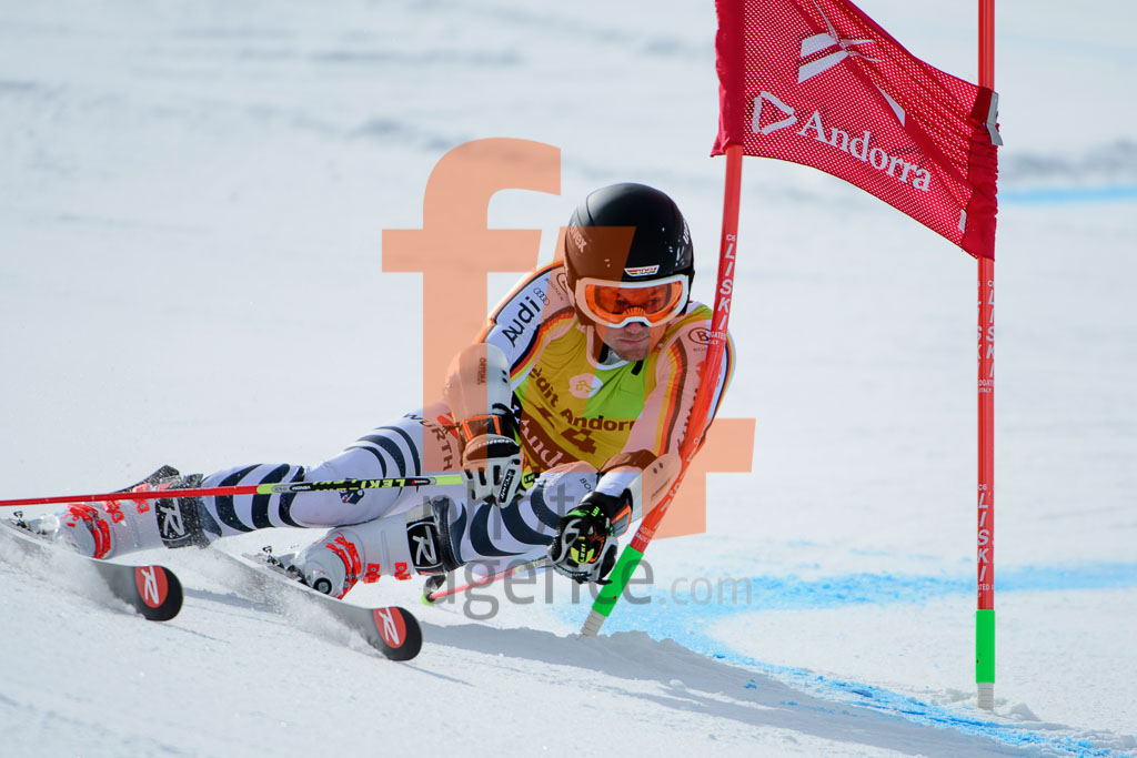 2017/18, European Cup, FIS, GS, Men, RAUCHFUSS Julian  (GER), Season, Soldeu (AND)