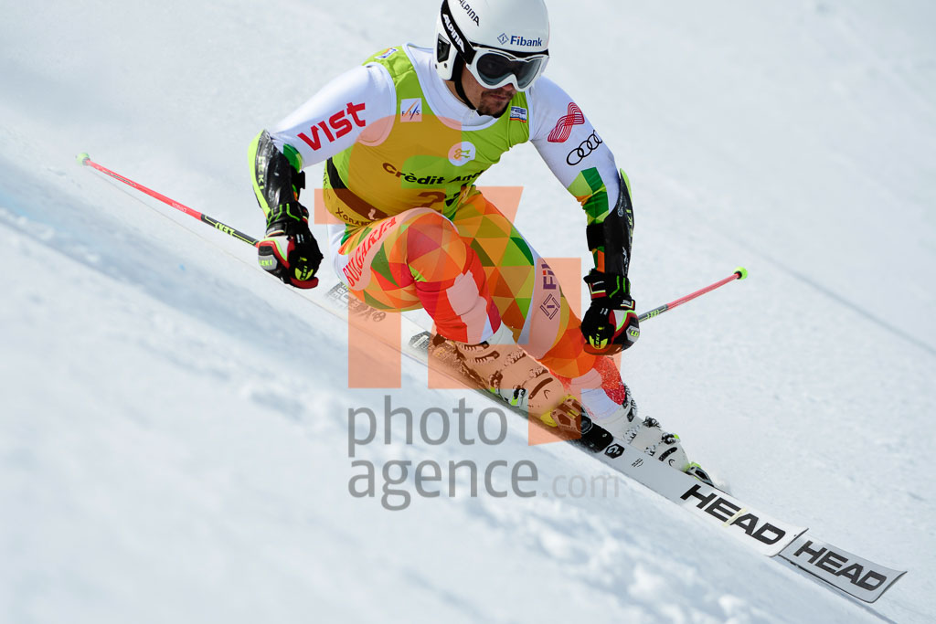 2017/18, European Cup, FIS, GS, Men, POPOV Albert (BUL), Season, Soldeu (AND)