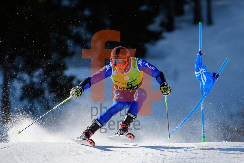 2017/18, BOSCA Giulio Giovanni(ITA), European Cup, FIS, GS, Men, Season, Soldeu (AND)