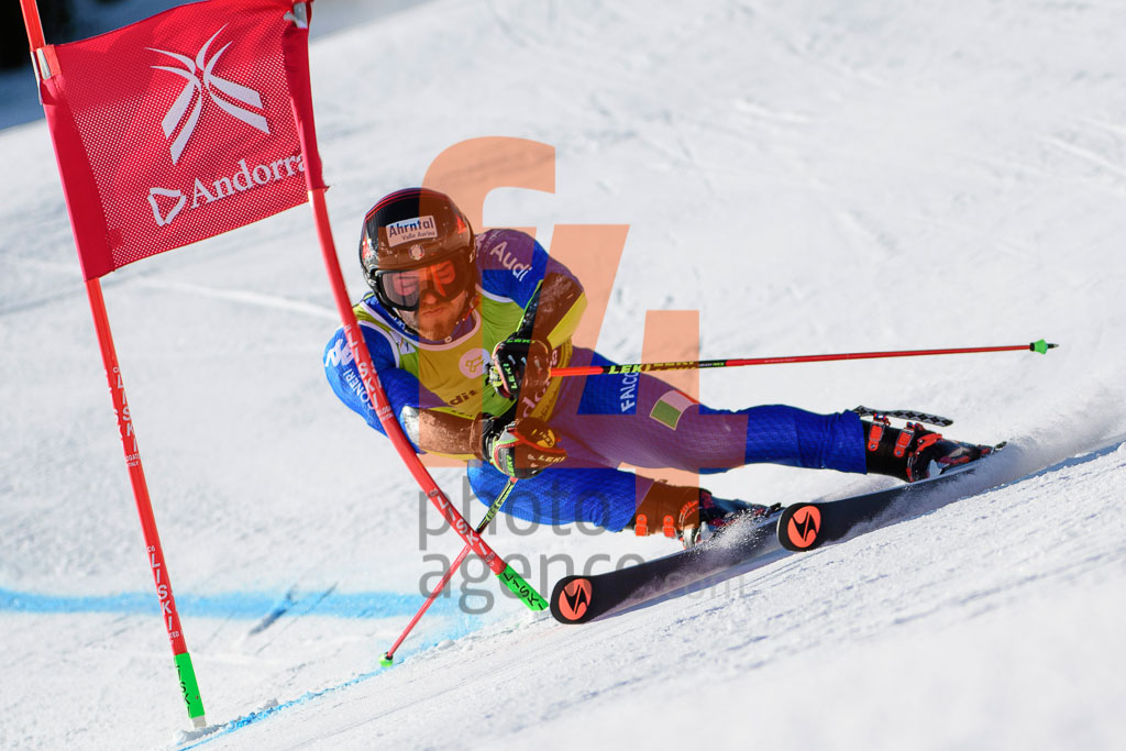 2017/18, European Cup, FIS, GS, MAURBERGER Simon  (ITA), Men, Season, Soldeu (AND)