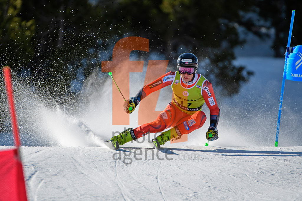 2017/18, European Cup, FIS, GS, MONSEN Marcus   (NOR), Men, Season, Soldeu (AND)