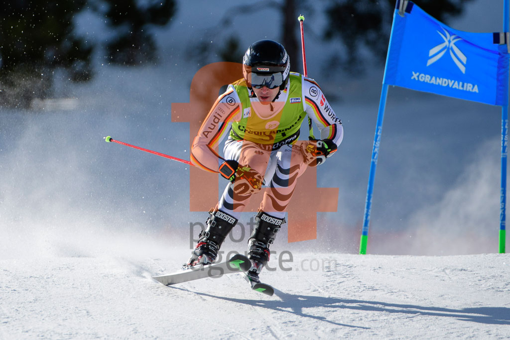 2017/18, European Cup, FIS, GS, Men, Season, Soldeu (AND), WASMEIER Lukas (GER)