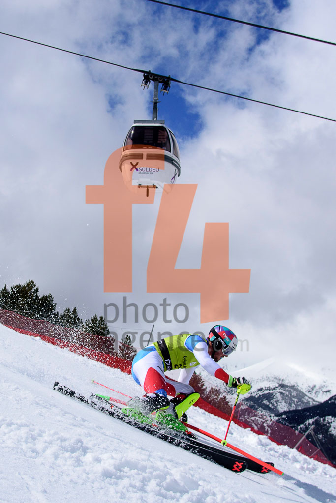 2017/18, BONVIN Anthony  (SUI), European Cup, FIS, Men, SL, Season, Soldeu (AND)