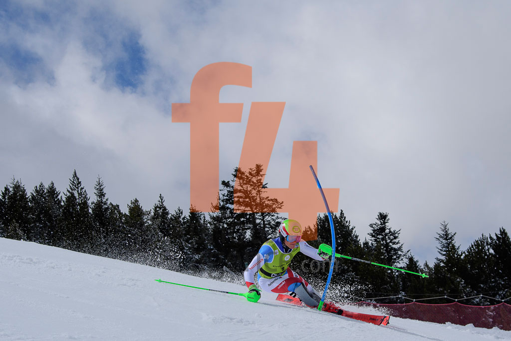 2017/18, BISSIG Semyel  (SUI), European Cup, FIS, Men, SL, Season, Soldeu (AND)