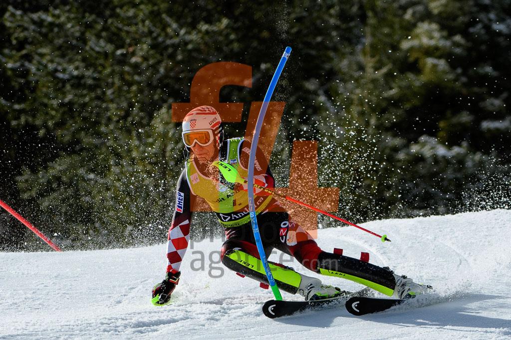 2017/18, European Cup, FIS, Men, SL, Season, Soldeu (AND), VIDOVIC Matej