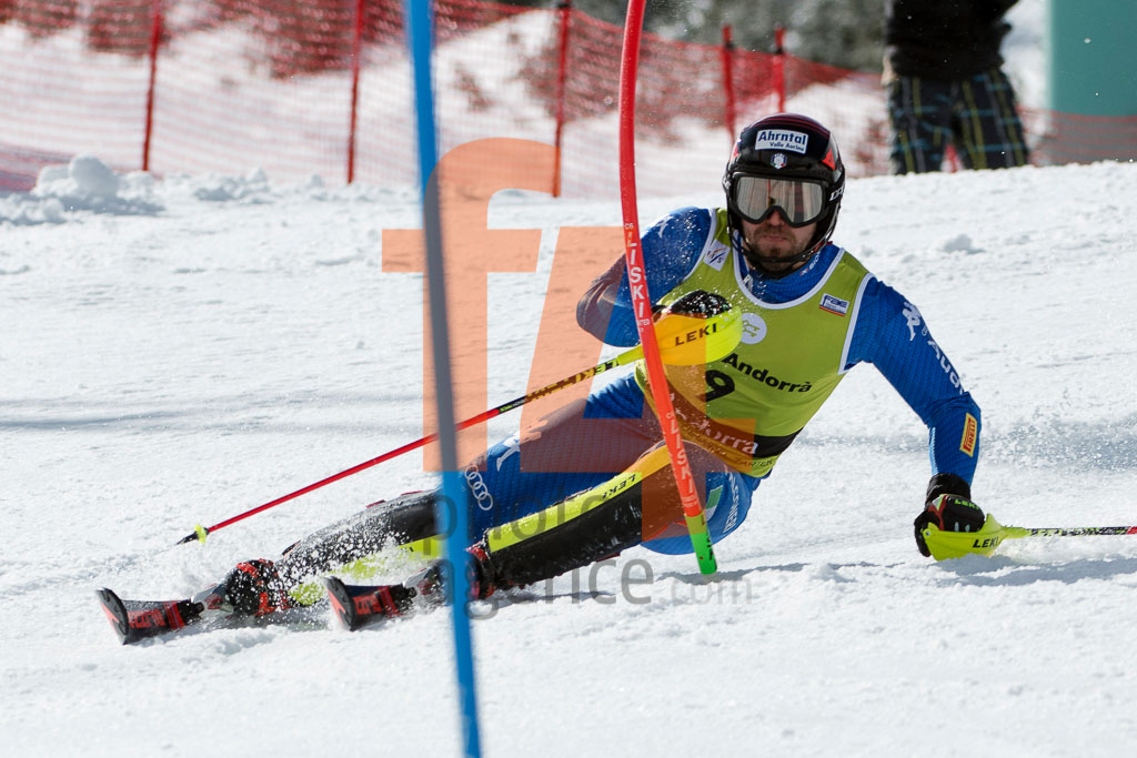 2017/18, European Cup, FIS, MAURBERGER Simon  (ITA), Men, SL, Season, Soldeu (AND)