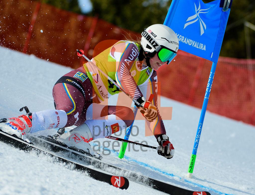 2017/18, European Cup, FIS, GS, RASK Sara  (SWE), Season, Soldeu (AND), Women