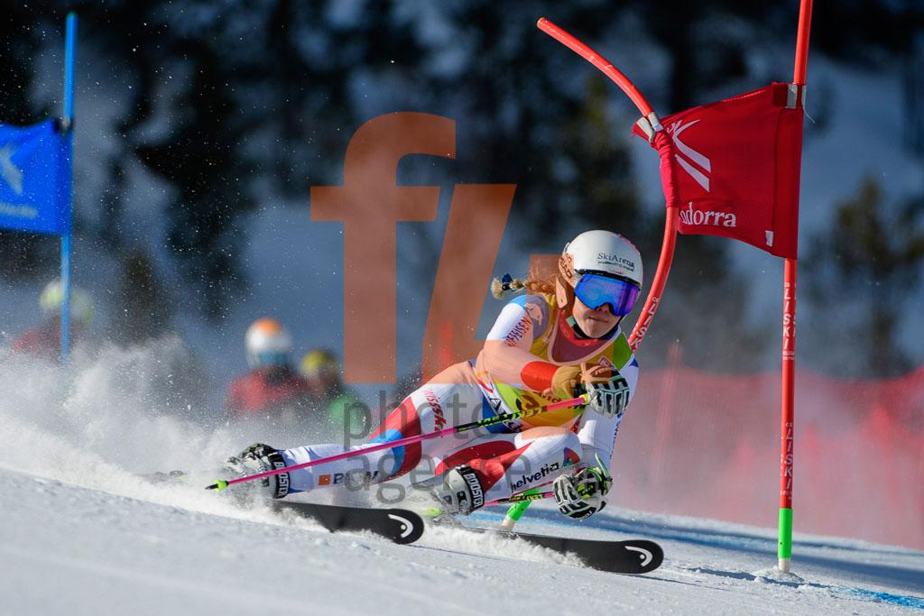 2017/18, DANIOTH Aline  (SUI), European Cup, FIS, GS, Season, Soldeu (AND), Women