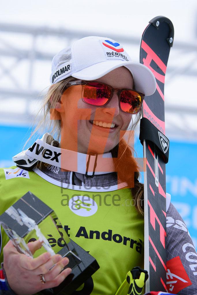 2017/18, European Cup, FIS, FORNI Josephine (FRA), SL, Season, Soldeu (AND), Women