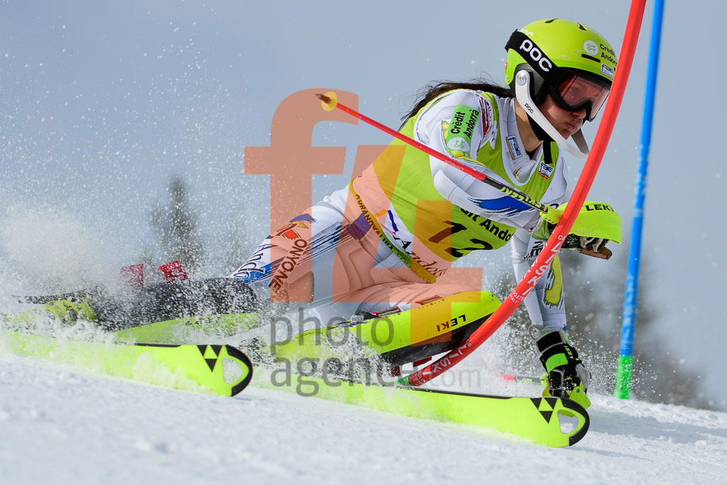 2017/18, European Cup, FIS, GUTIERREZ Mireia (AND), SL, Season, Soldeu (AND), Women