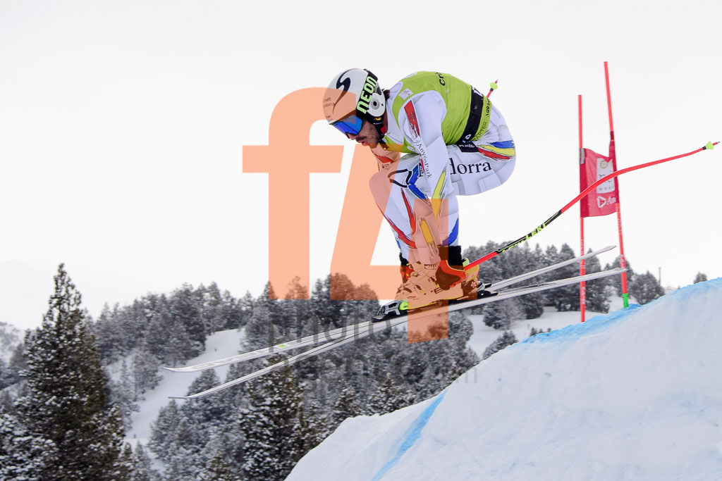 2017/18, DH, El Tarter (AND), European Cup, FIS, Men, Season, Soldeu (AND), VERDU Joan (AND)