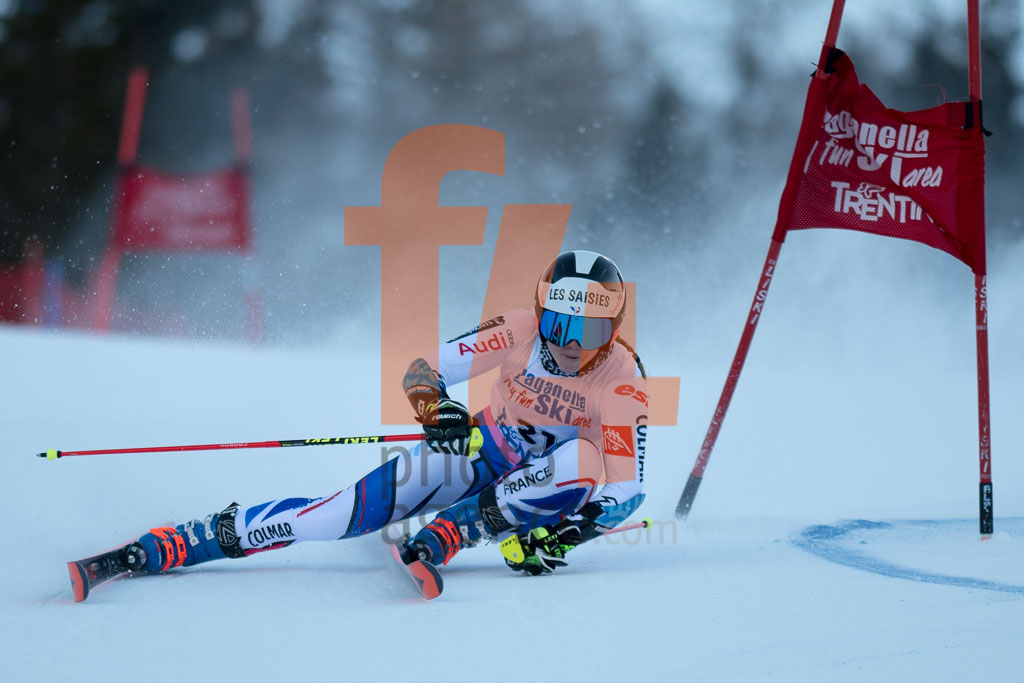 2018/19, Andalo Paganelle (ITA), DIREZ Clara (FRA), European Cup, FIS, GS, Season, Women