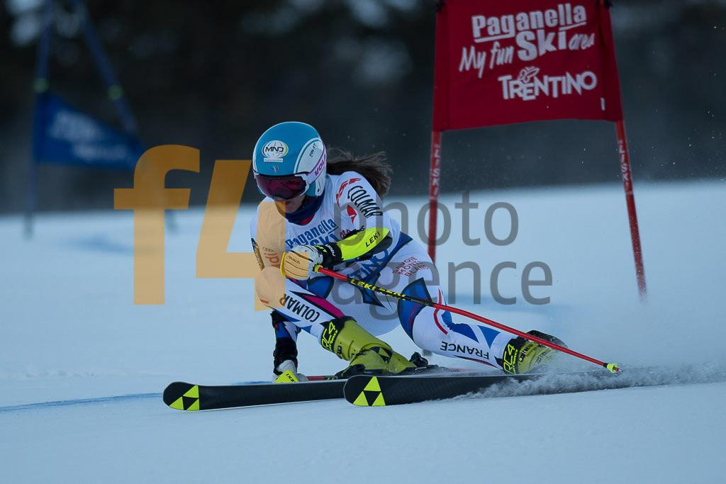 Andalo Paganelle (ITA), ESCANE Doriane  (FRA), European Cup, FIS, GS, Women