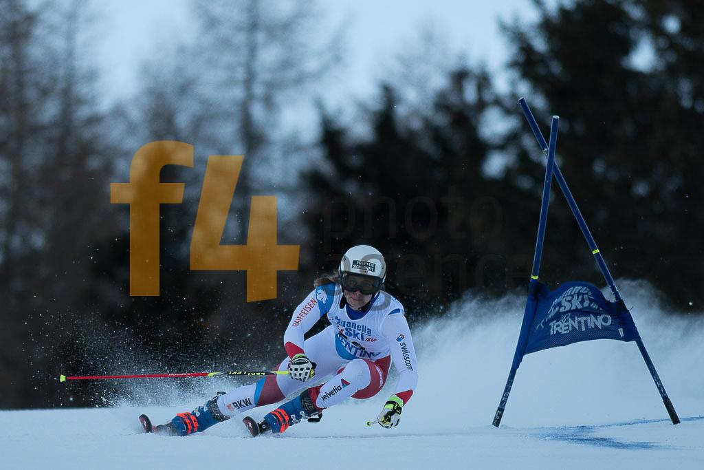 Andalo Paganelle (ITA), ELLENBERGER Andrea (SUI), European Cup, FIS, GS, Women
