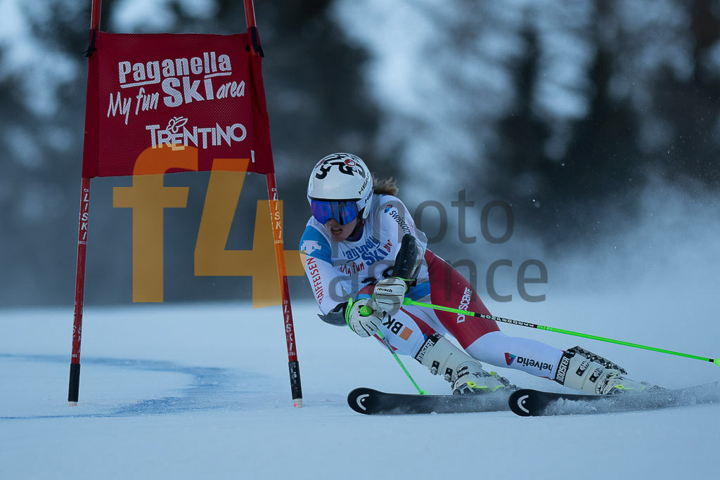 Andalo Paganelle (ITA), European Cup, FIS, GS, RAST Camille (SUI), Women