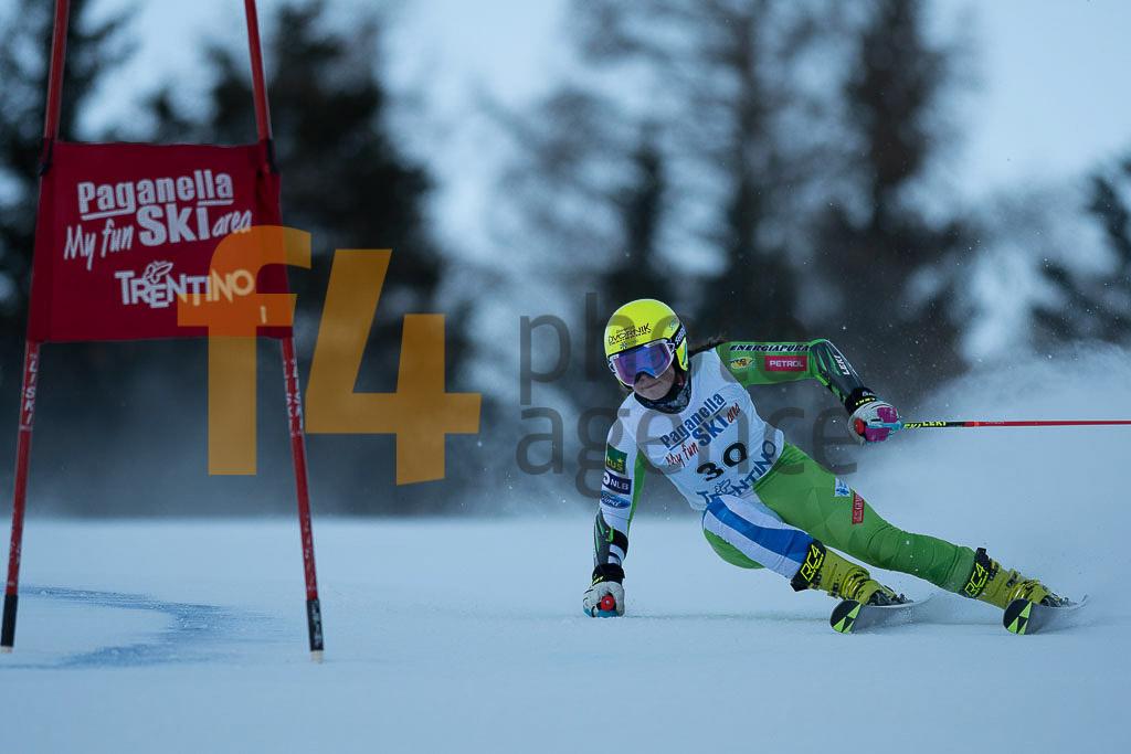 Andalo Paganelle (ITA), DVORNIK Neja  (SLO), European Cup, FIS, GS, Women