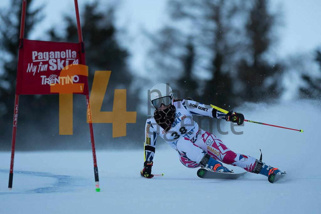 Andalo Paganelle (ITA), CAPOVA Gabriela  (CZE), European Cup, FIS, GS, Women