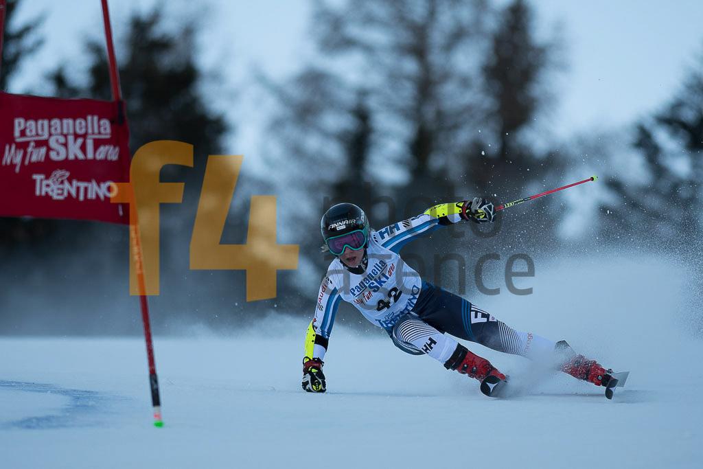 Andalo Paganelle (ITA), European Cup, FIS, GS, PYKALAINEN Erika (FIN), Women