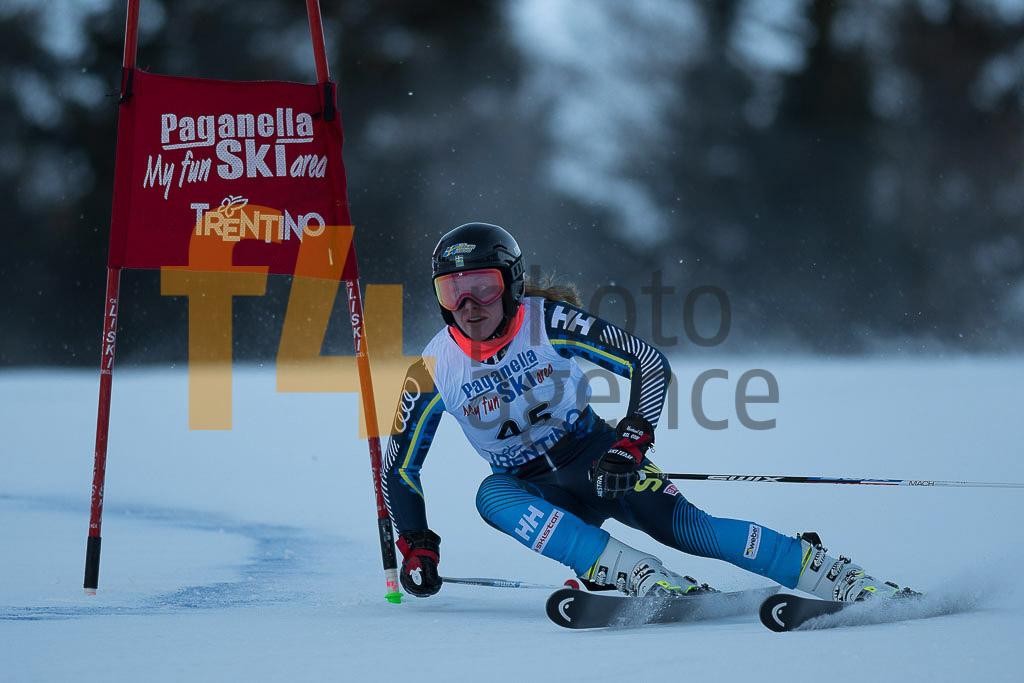 Andalo Paganelle (ITA), European Cup, FIS, GS, LOEVBLOM Hilma (SWE), Women