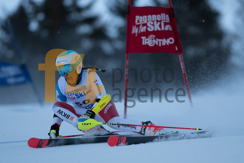 Andalo Paganelle (ITA), EGLOFF Selina (SUI), European Cup, FIS, GS, Women