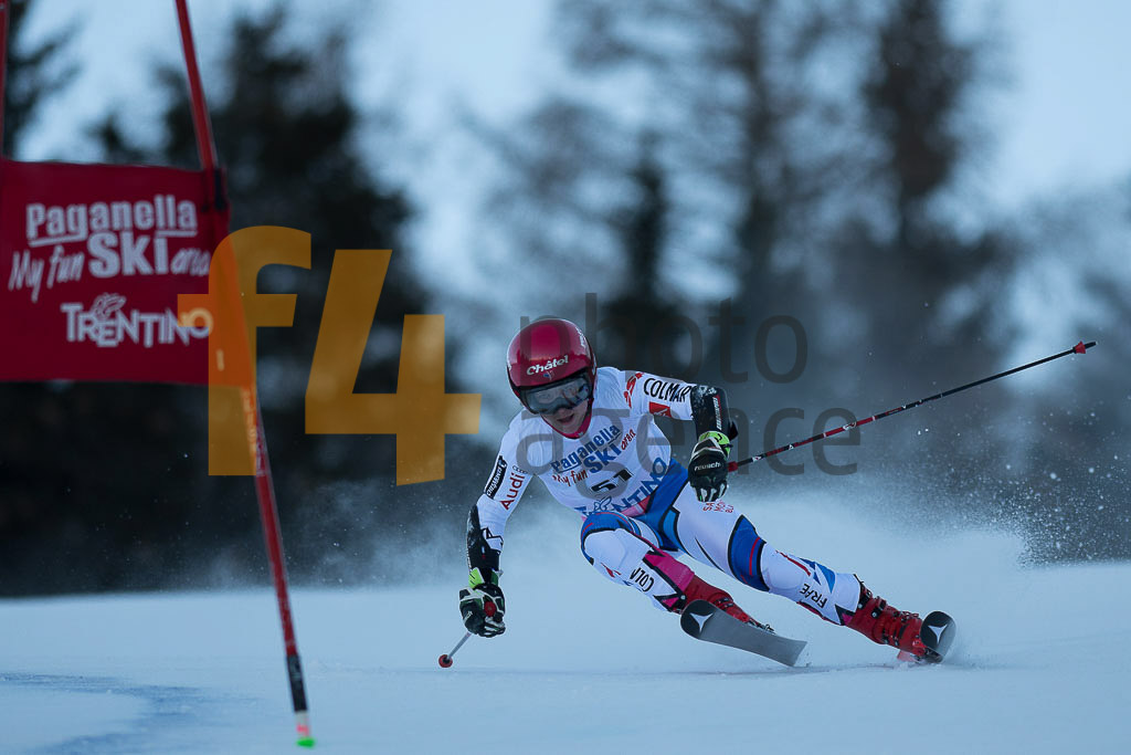 Andalo Paganelle (ITA), European Cup, FIS, GRILLET AUBERT Jade (FRA), GS, Women