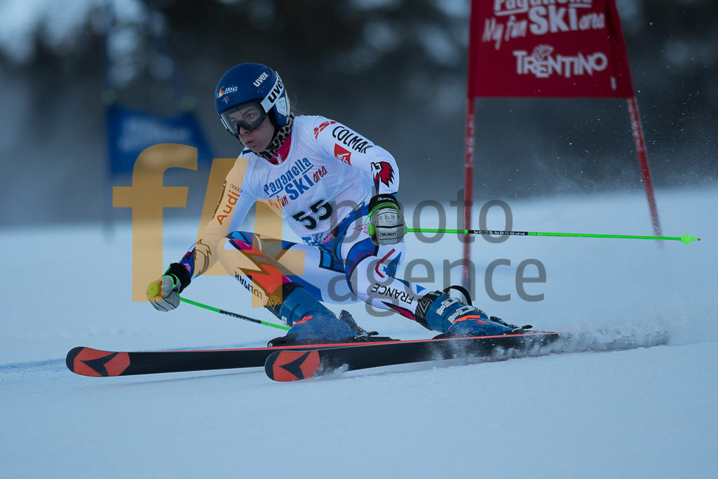 Andalo Paganelle (ITA), European Cup, FIS, GS, ROUX Tifany (FRA), Women