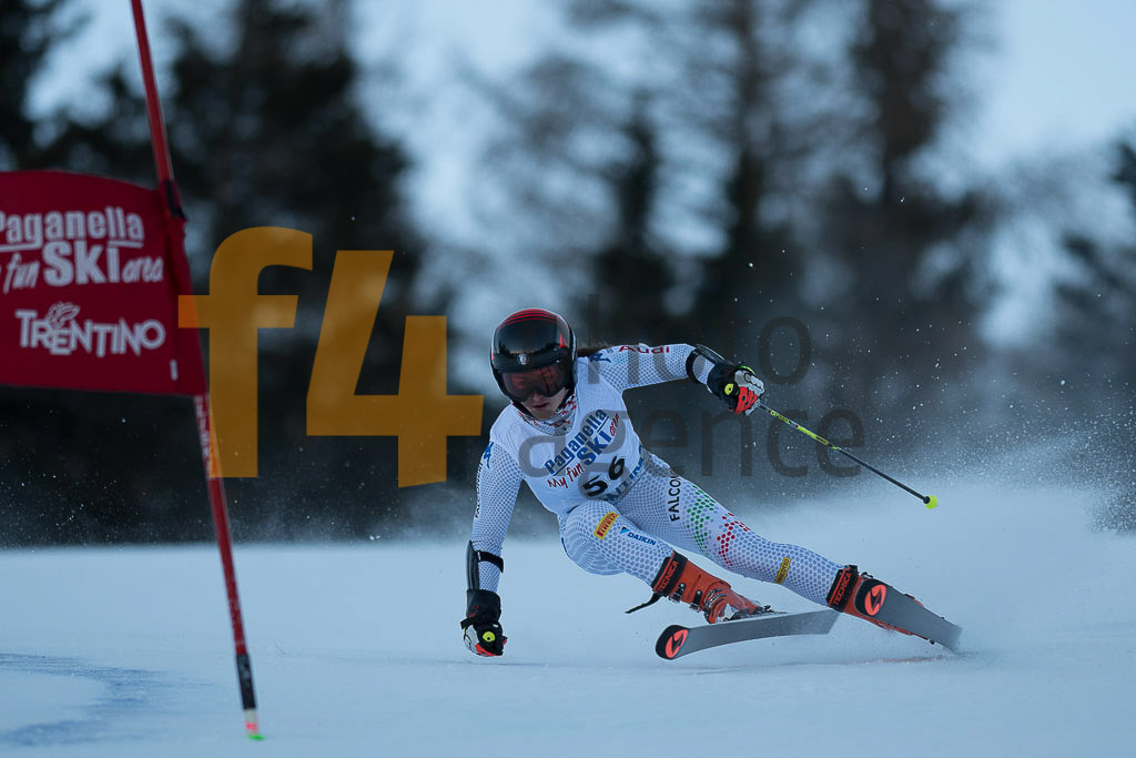 Andalo Paganelle (ITA), CALATI Veronika (ITA), European Cup, FIS, GS, Women
