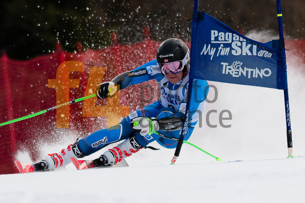 2018/19, Andalo Paganelle (ITA), European Cup, FIS, GS, HAUGAN Timon   (NOR), Men, Season
