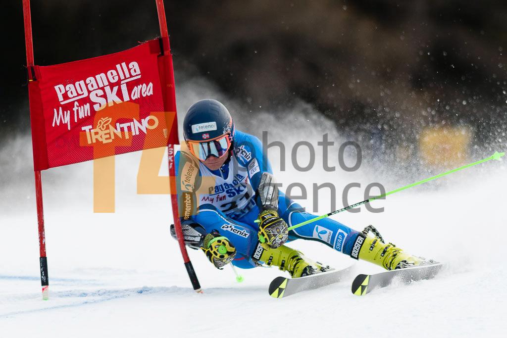 2018/19, Andalo Paganelle (ITA), European Cup, FIS, GS, MONSEN Marcus   (NOR), Men, Season
