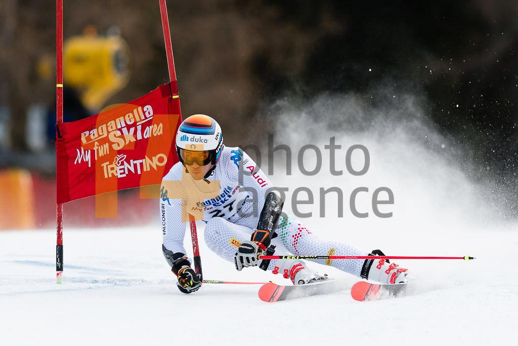 2018/19, Andalo Paganelle (ITA), European Cup, FIS, GS, Men, Season, ZINGERLE Hannes(ITA)