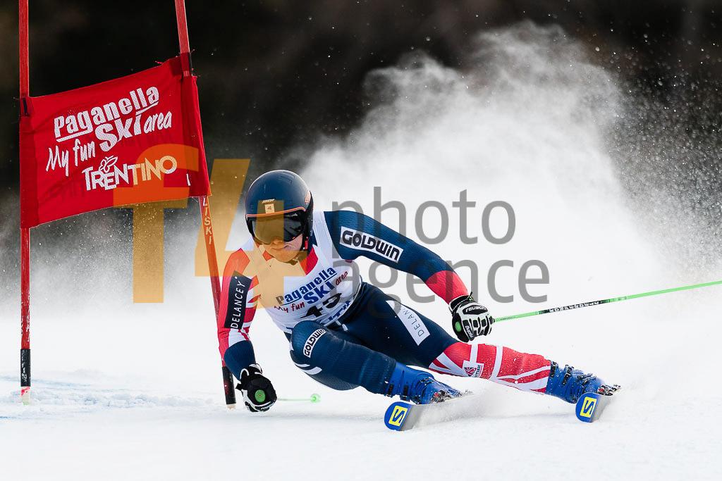 2018/19, Andalo Paganelle (ITA), European Cup, FIS, GOWER Jack (GBR), GS, Men, Season