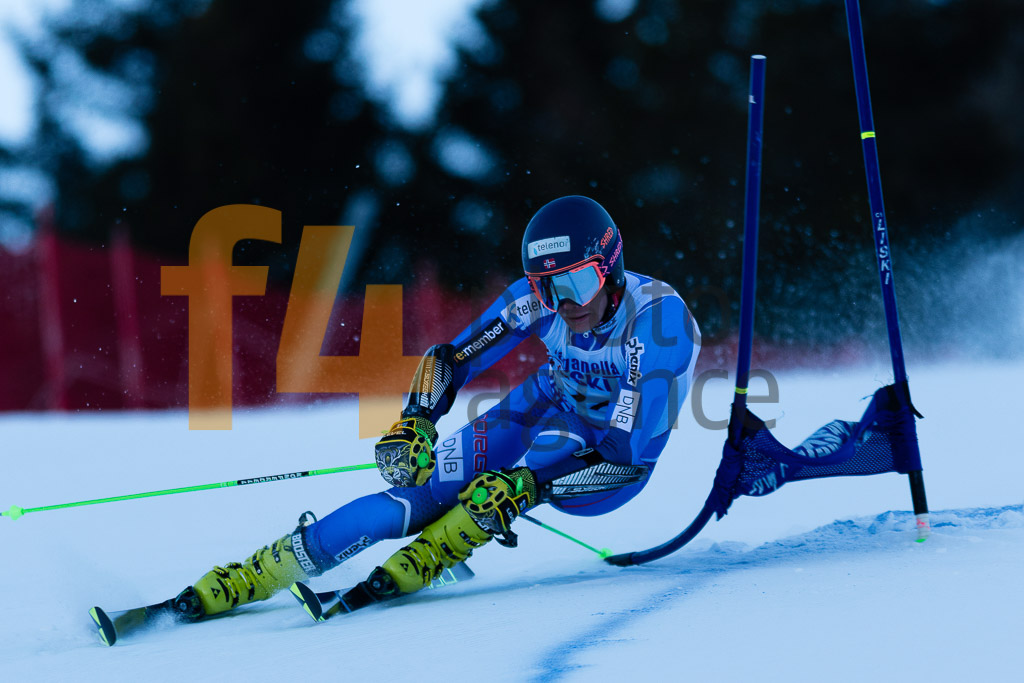 2018/19, Andalo Paganelle (ITA), European Cup, FIS, GS, MONSEN Marcus   (NOR), Men, Season