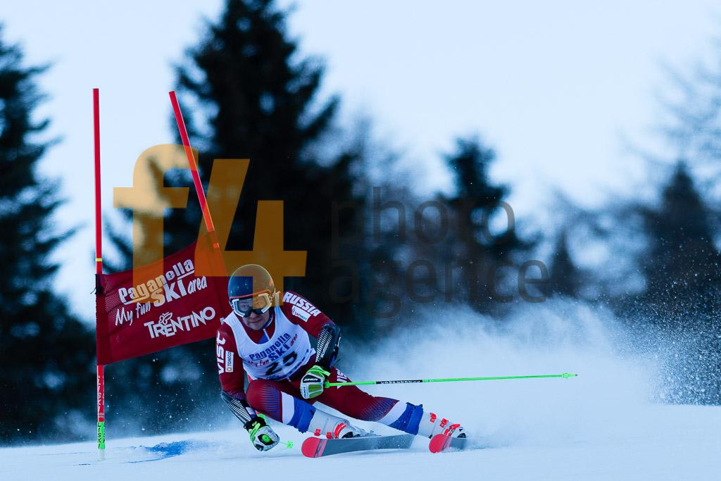 2018/19, ANDRIENKO Aleksander (RUS), Andalo Paganelle (ITA), European Cup, FIS, GS, Men, Season