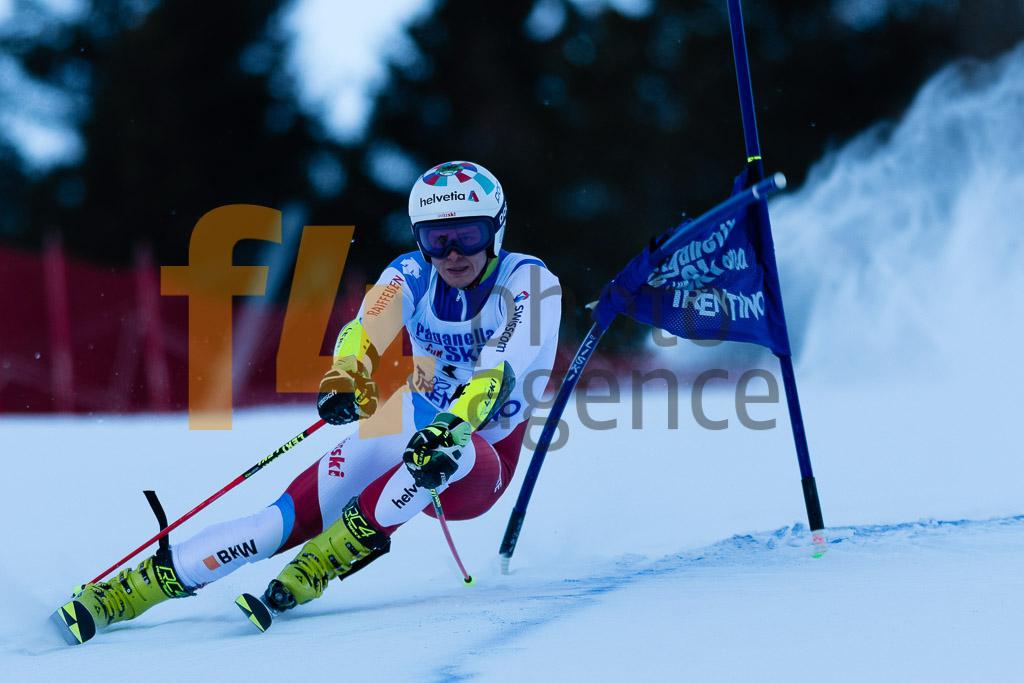 2018/19, Andalo Paganelle (ITA), European Cup, FIS, GS, Men, Season, VON GRUENIGEN Noel (SUI)