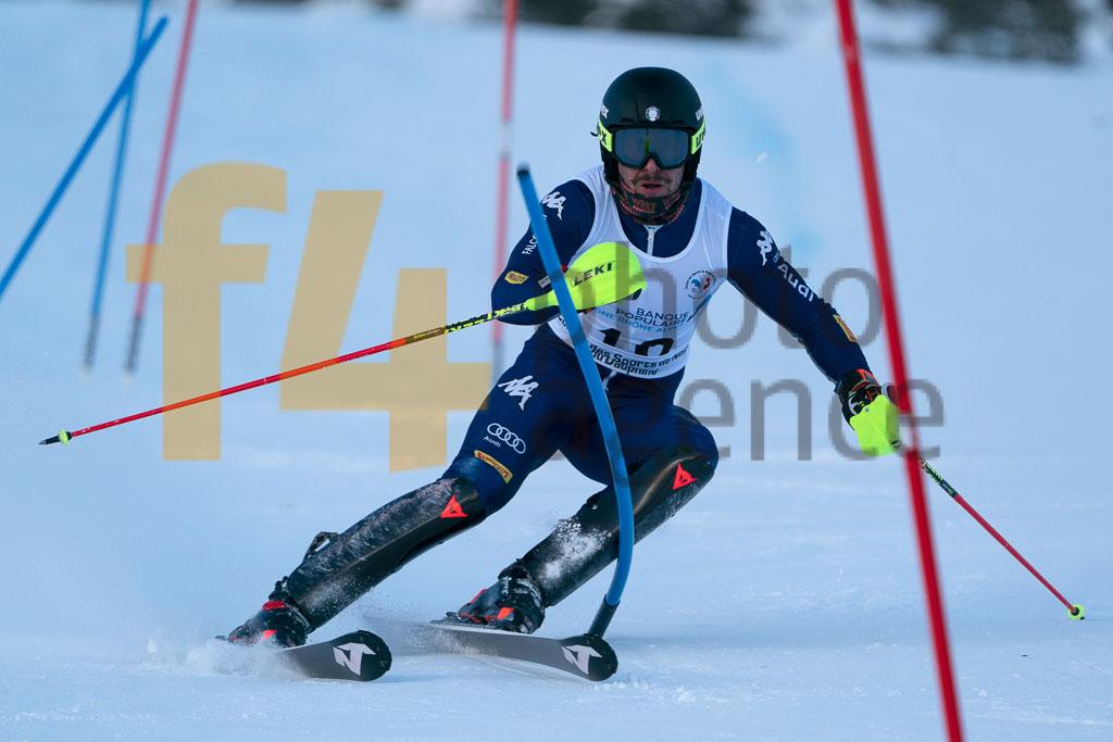 2019/20, European Cup, FIS, Men, SL, Season, VACCARI Hans (ITA), Vaujany (FRA)