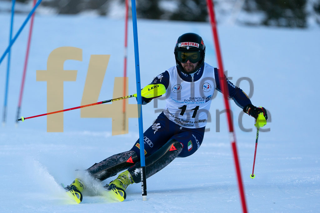 2019/20, BACHER Fabian (ITA), European Cup, FIS, Men, SL, Season, Vaujany (FRA)