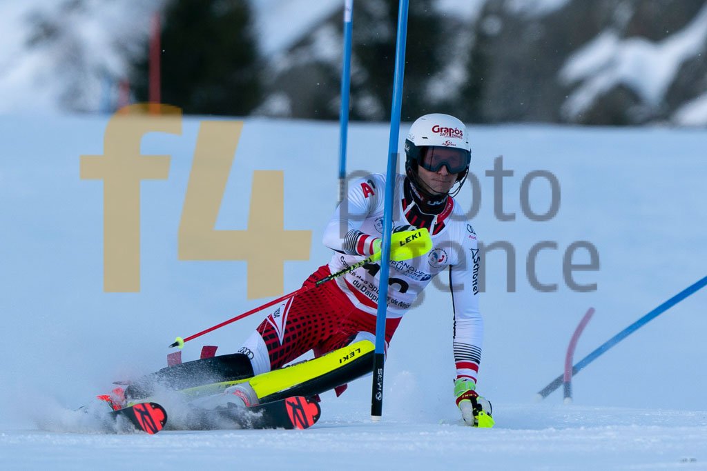 2019/20, European Cup, FIS, Men, RASCHNER Dominik  (AUT), SL, Season, Vaujany (FRA)