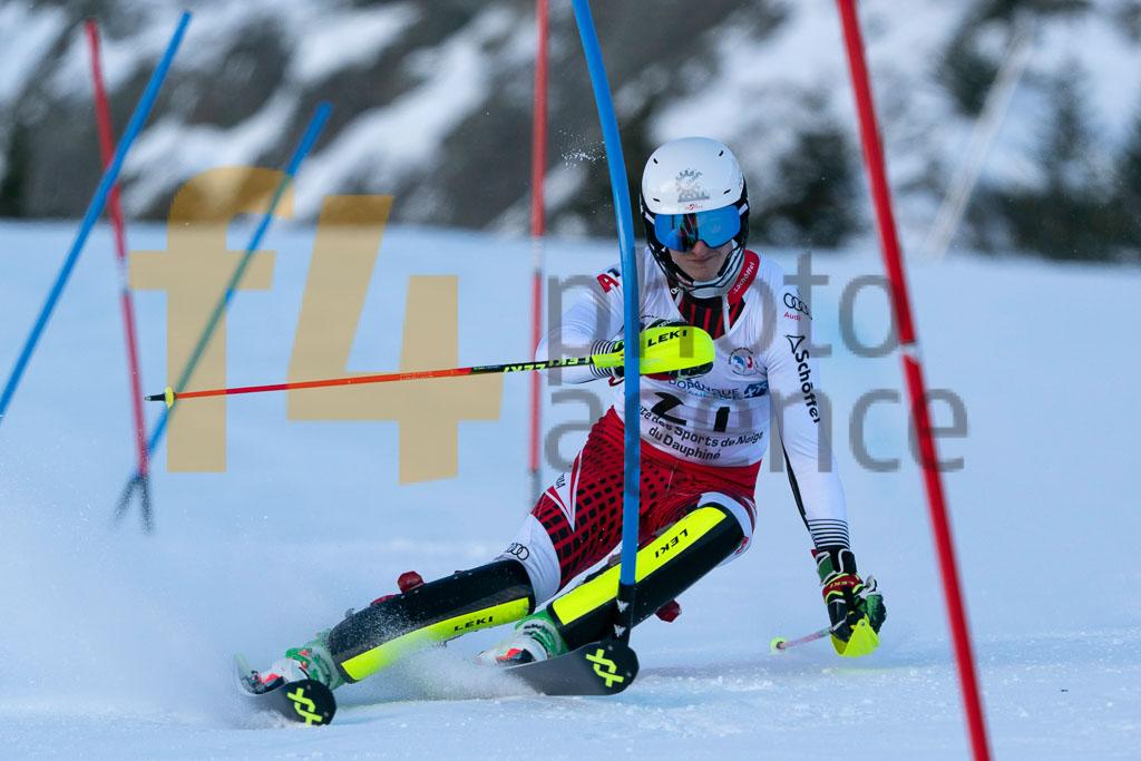 2019/20, European Cup, FIS, Men, PERTL Adrian (AUT), SL, Season, Vaujany (FRA)